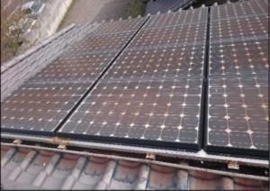 ソーラー金網1